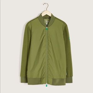 Save the duck green bomber jacket size 1X